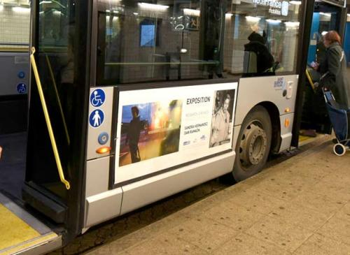 Arret de bus accessible bandeau