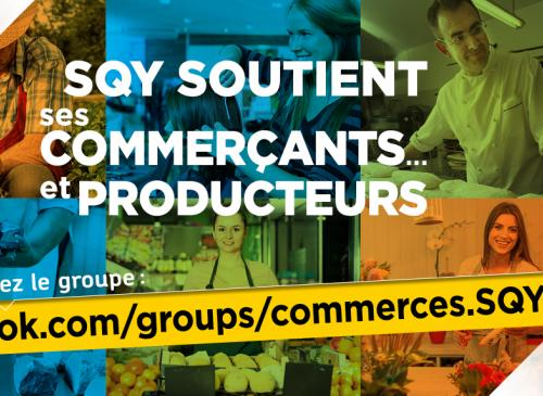 SQY soutient ses commercants page
