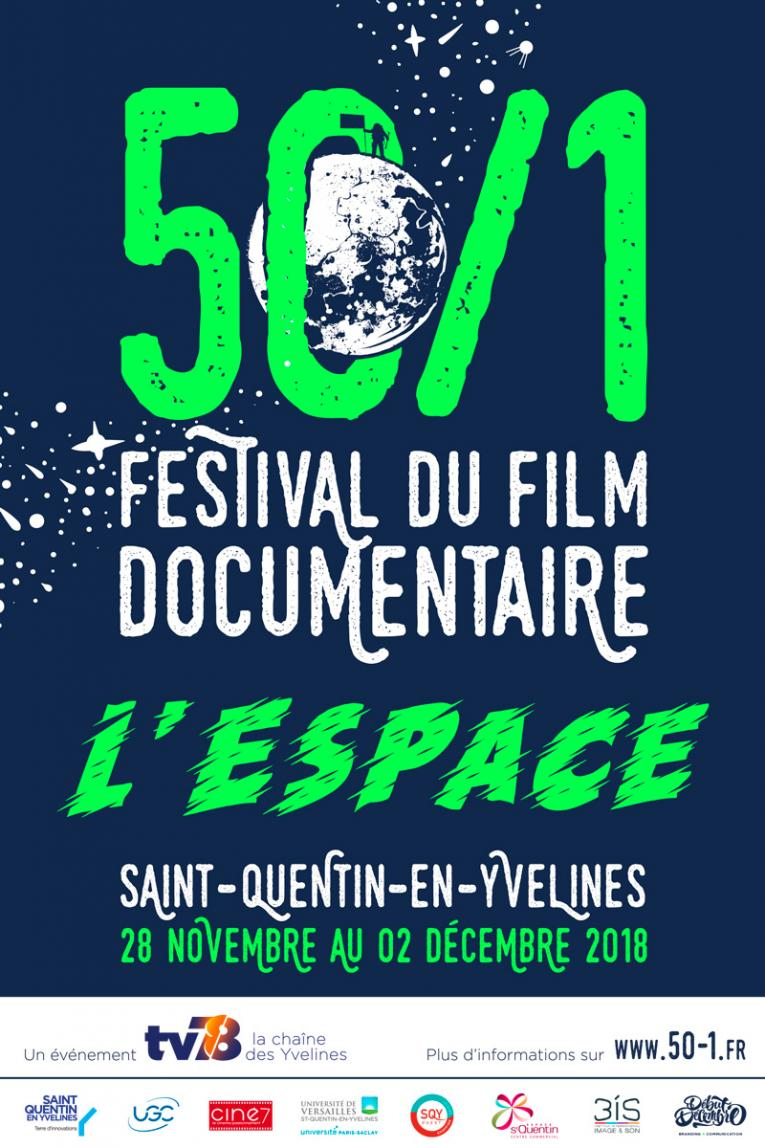 Affiche du 50/1 Festival du film documentaire